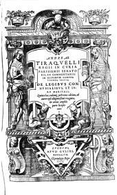 De legibus connubialibus et jure meritali. V. ed