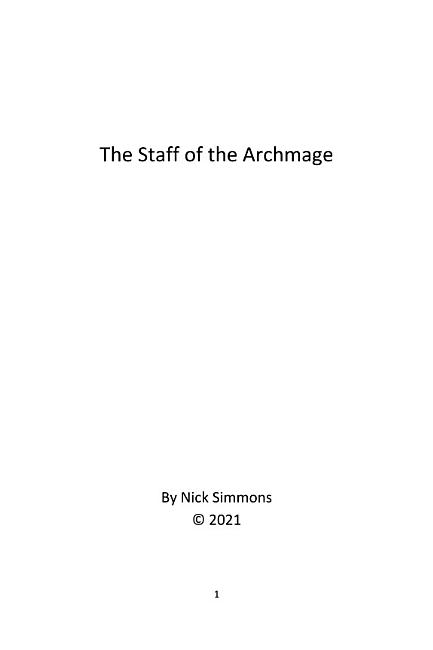 The Staff of the Archmage PDF