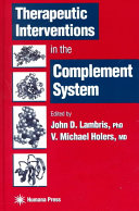 Therapeutic Interventions in the Complement System PDF