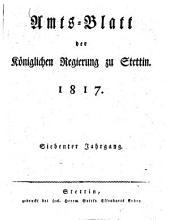 Amtsblatt der Regierung in Stettin: 1817