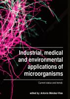 Industrial  medical and environmental applications of microorganisms PDF