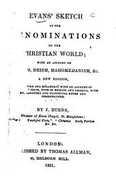 Evans' sketch of the denominations of the Christian world, etc
