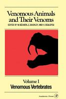 Venomous Animals and Their Venoms PDF