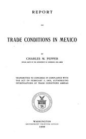 Report on Trade Conditions in Mexico