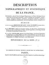 Description topographique et statistique de la France