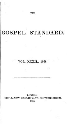 The Gospel standard  or Feeble Christian s support PDF