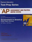 Ap Test Prep Workbook For Government In America Book PDF
