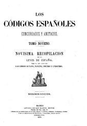 Los codigos españoles concordadas y anotados: Volúmenes 9-10