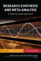 Research Synthesis and Meta Analysis PDF