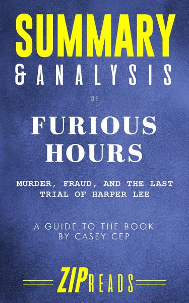 Download Summary   Analysis of Furious Hours Book