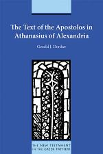The Text of the Apostolos in Athanasius of Alexandria
