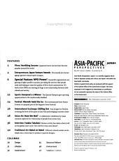 Asia Pacific Perspectives  Japan Plus PDF