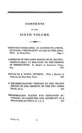 The works of Daniel Waterland: to which is prefixed a review of the author's life and writings, Volume 6