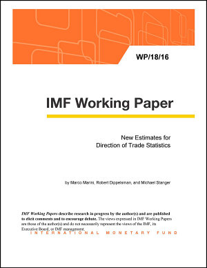 New Estimates for Direction of Trade Statistics PDF