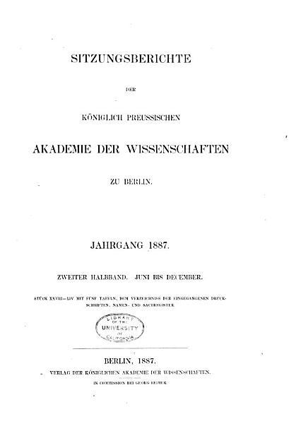 Archivos Do Museu Nacional Do Rio De Janeiro 1885 Vol 6