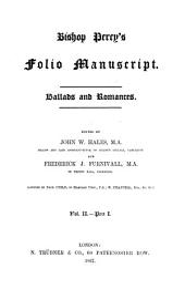 Ballads and Romances: Volume 2, Part 1
