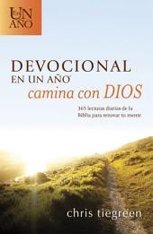 Devocional en un año – Camina con Dios: 365 lecturas diarias de la Biblia para renovar tu mente
