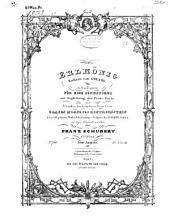 Erlkönig: Ballade von Goethe ; in Musik gesetzt für e. Singst. mit Begl. d. Piano-Forte ; 1. Werk