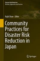 Community Practices for Disaster Risk Reduction in Japan PDF