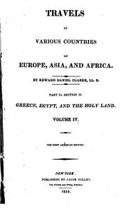 Travels in various countries of Europe, Asia and Africa: Volume 4