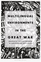 Multilingual Environments in the Great War PDF