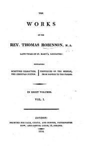The Works of ... Thomas Robinson