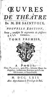 Oeuvres de théâtre: L'oracle. Deucalion et Pirrha. Les veuves turques. Le silphe. L'isle sauvage. Les Graces
