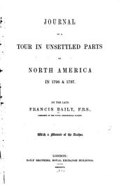 Journal of a tour in unsettled parts of North America in 1796 & 1797