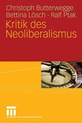 Kritik des Neoliberalismus