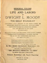 Life and Labors of Dwight L  Moody PDF