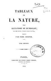 Tableaux de la nature: Volume1