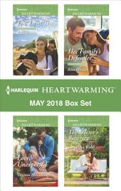 Harlequin Heartwarming May 2018 Box Set: The Twin Test\Love, Unexpected\Her Family's Defender\The Doctor's Recovery