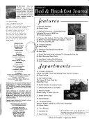 Arrington's B & B Journal