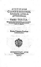 Augustana confessio ejusque apologia tabulis delineata: Volume 3