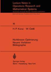 Nichtlineare Optimierung  Neuere Verfahren Bibliographie PDF