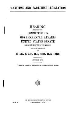 Flextime and Part time Legislation PDF
