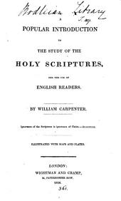A popular introduction to the study of the holy Scriptures