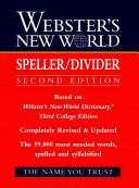 Webster s New World Speller Divider