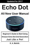 Echo Dot User Manual PDF
