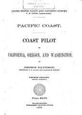 Pacific Coast: Coast Pilot of California, Oregon, and Washington, Volume 1