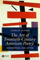 The Art of Twentieth Century American Poetry PDF