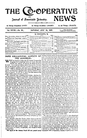 Co-operative News and Journal of Associated Industry