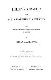 Der Kural des Tiruvalluver: ein gnomisches gedicht uber die drei strebeziele des menschen, Band 3