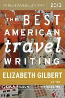 The Best American Travel Writing 2013 PDF