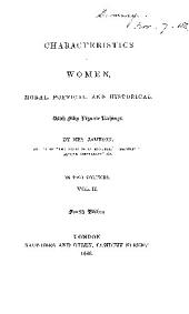 Characteristics of Women, Moral, Poetical, and Historical. With Fifty Vignette Etchings: Volume 2