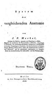 System der vergleichenden Anatomie: Band 4