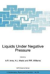 Liquids Under Negative Pressure Book PDF
