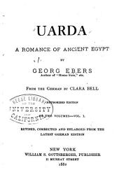 Uarda: A Romance of Ancient Egypt, Volume 1