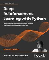 Deep Reinforcement Learning with Python PDF