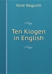 Ten Kiogen in English
